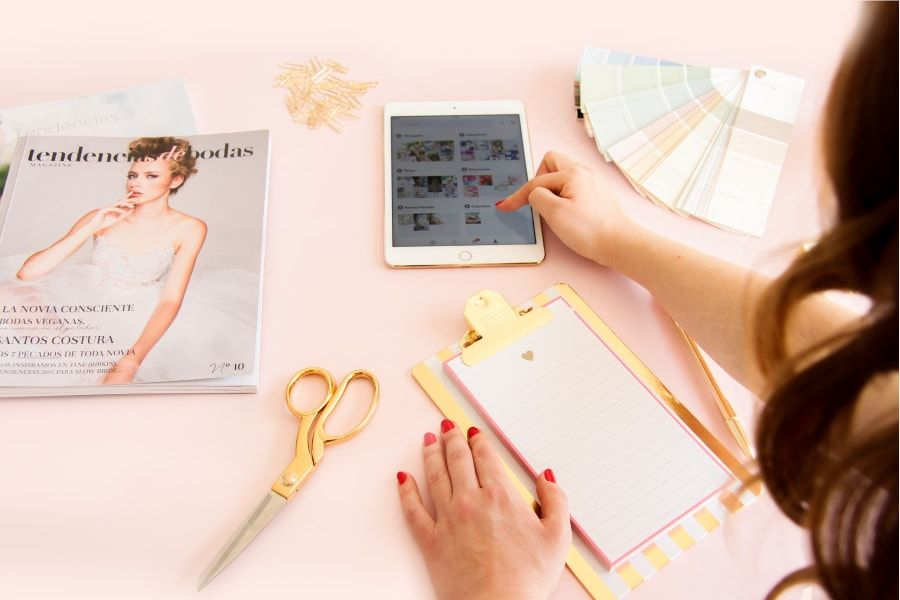 Diseño web para páginas de bodas: Lau and Love, wedding and event planner de Barcelona, Cataluña