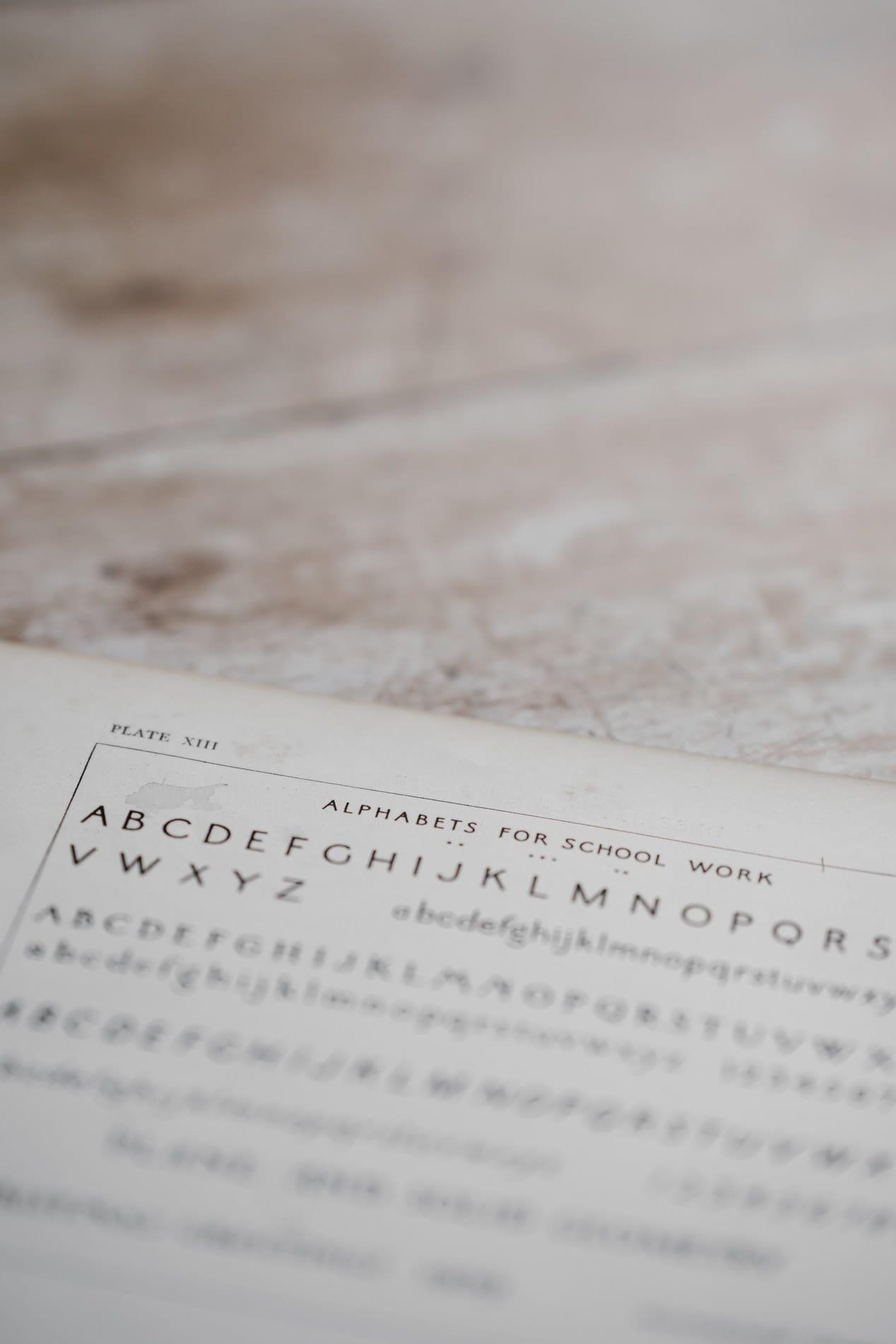 El lenguaje de las tipografías y sus clasificaciones