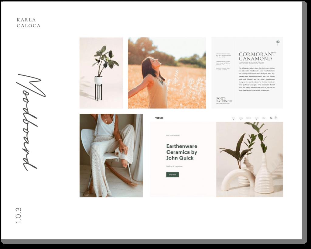 Sonia Layola - Mood Baord -  3 maneras de contar la historia de tu marca: ¿Con cuál empiezas?