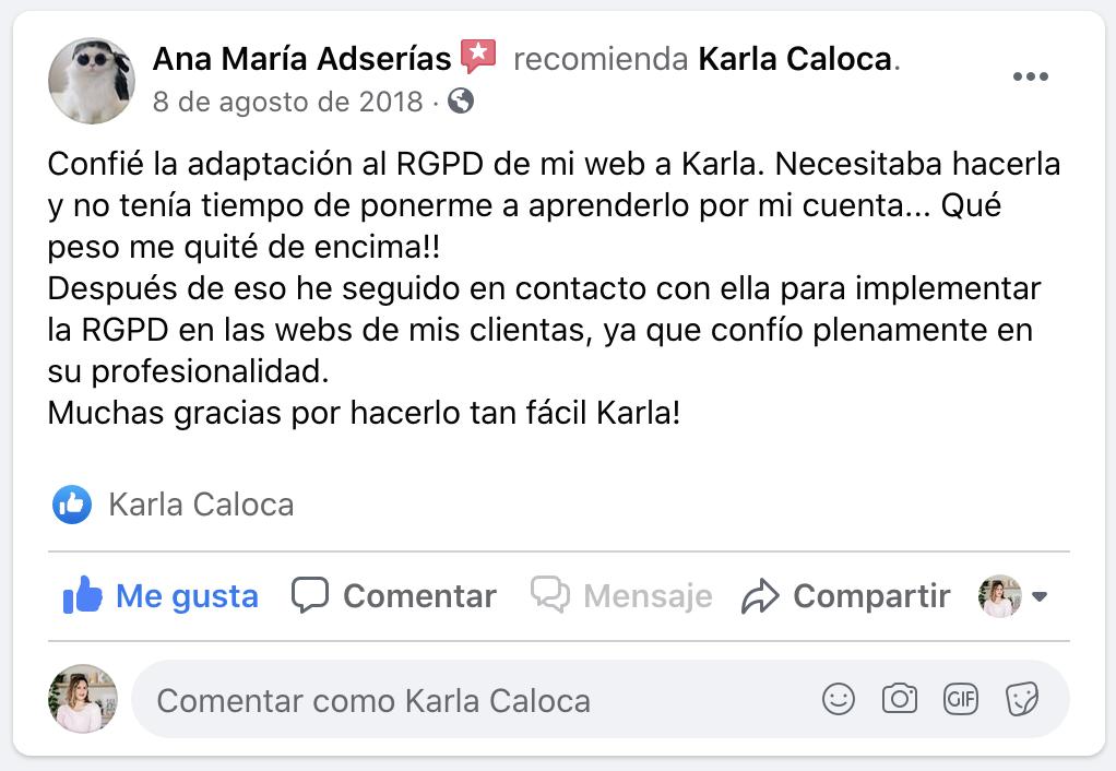 Testimonial Ana Maria