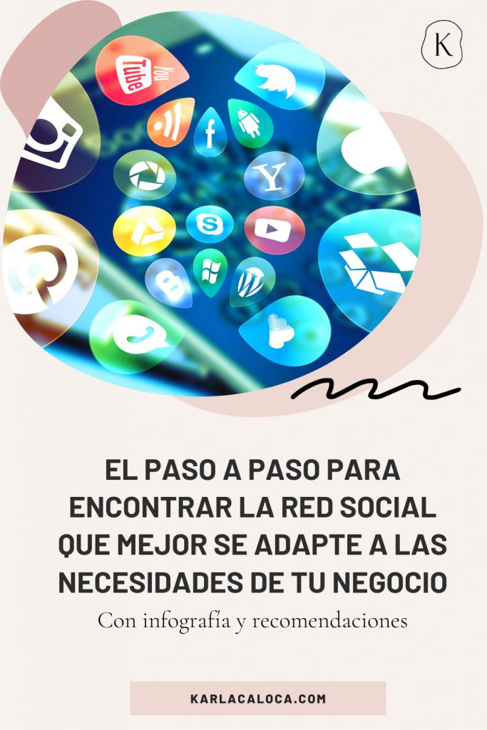 ¿En qué red social tengo que estar? El Paso a paso para encontrar la red social que se adapte a las necesidades de tu negocio. Con infografía