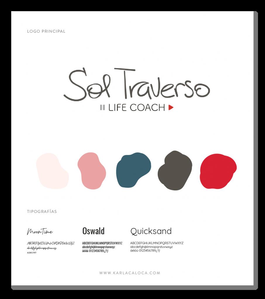 SolTraverso portfolio Brand Board