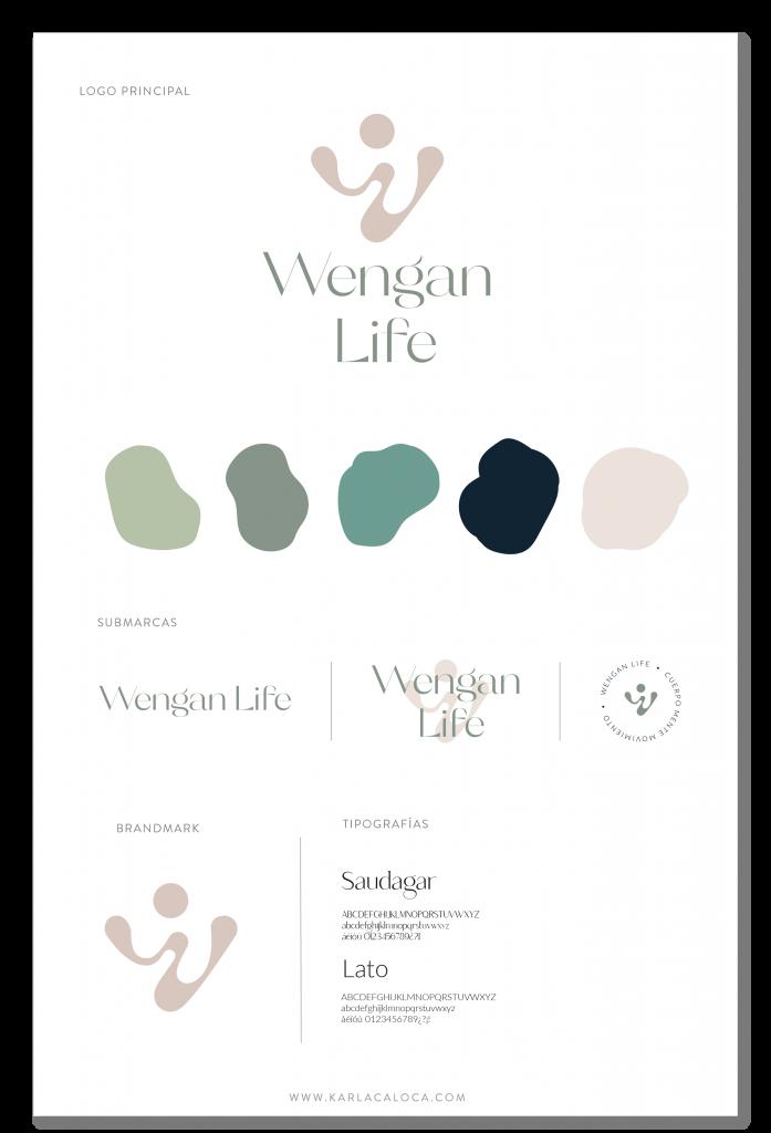WenganLife portfolio Brand Board