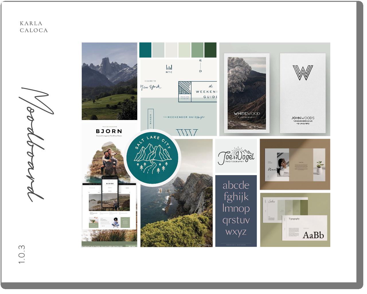 AsturiasPrestosa portfolio Moodboard