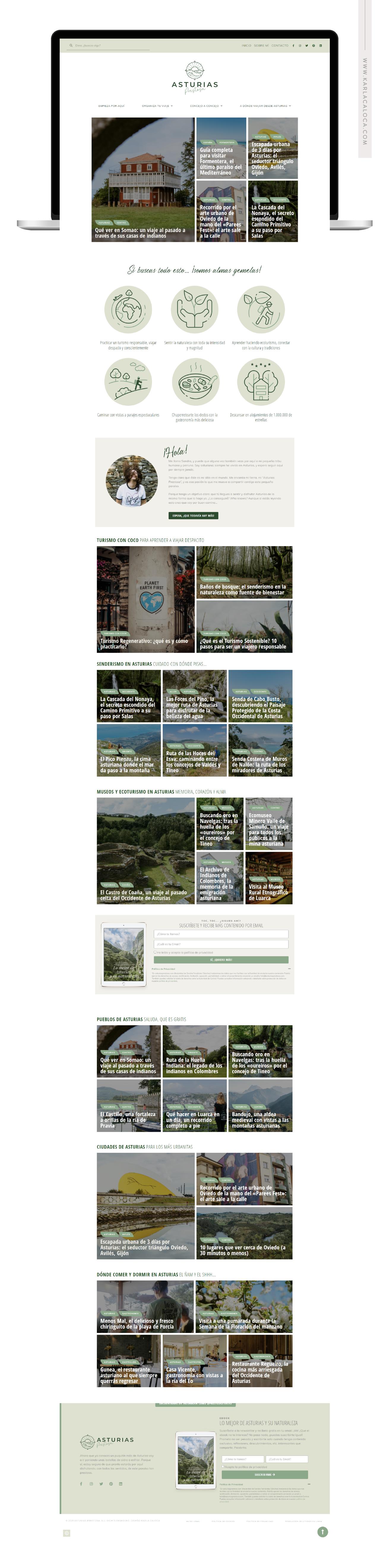 AsturiasPrestosa portfolio Website
