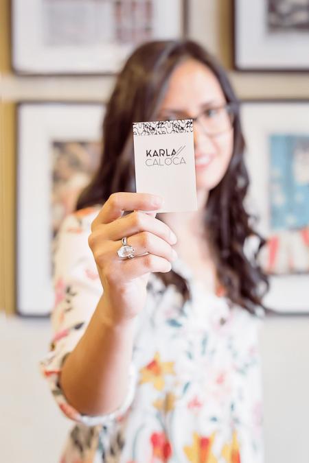Karla Caloca: Diseñadora web especializada en wordpress